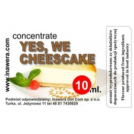 YES, WE CHEESCAKE - CONCENTRATE