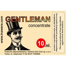 GENTLEMAN  - CONCENTRATE - INAWERA